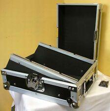 """ROADINGER 10"""" 8HE Mixer-Case schwarz Mischpultcase Mixercase DJ-Case 8 HE"""
