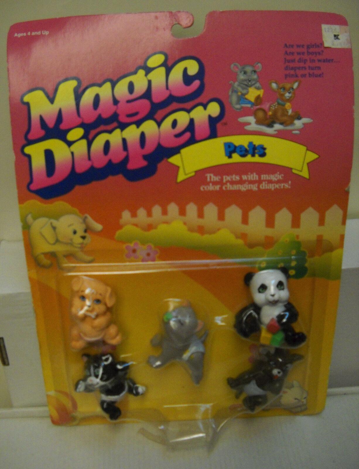 Galoob mágico Pañal Bebés nrfc Vintage Mascotas