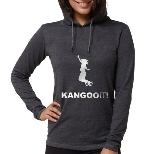 CafePress Kangoo Jumps Long Sleeve T Shirt Womens Hooded Shirt 118279410