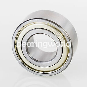5205 ZZ Double Row Shielded Angular Contact Bearing 25mm x 52mm x 20.6mm