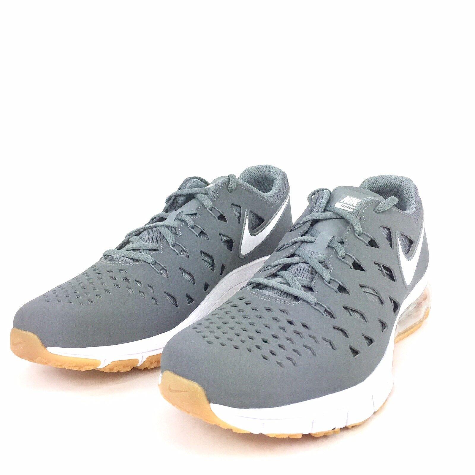 Nike air trainer 180 uomini scarpe cool grey white gomma gomma white med brown 916460 002 numero 11 60d4e7