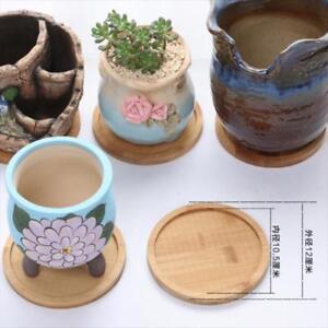 eBay & Wood Plant Pot Saucer Round Base Water Tray Stewart Flower Pot ...