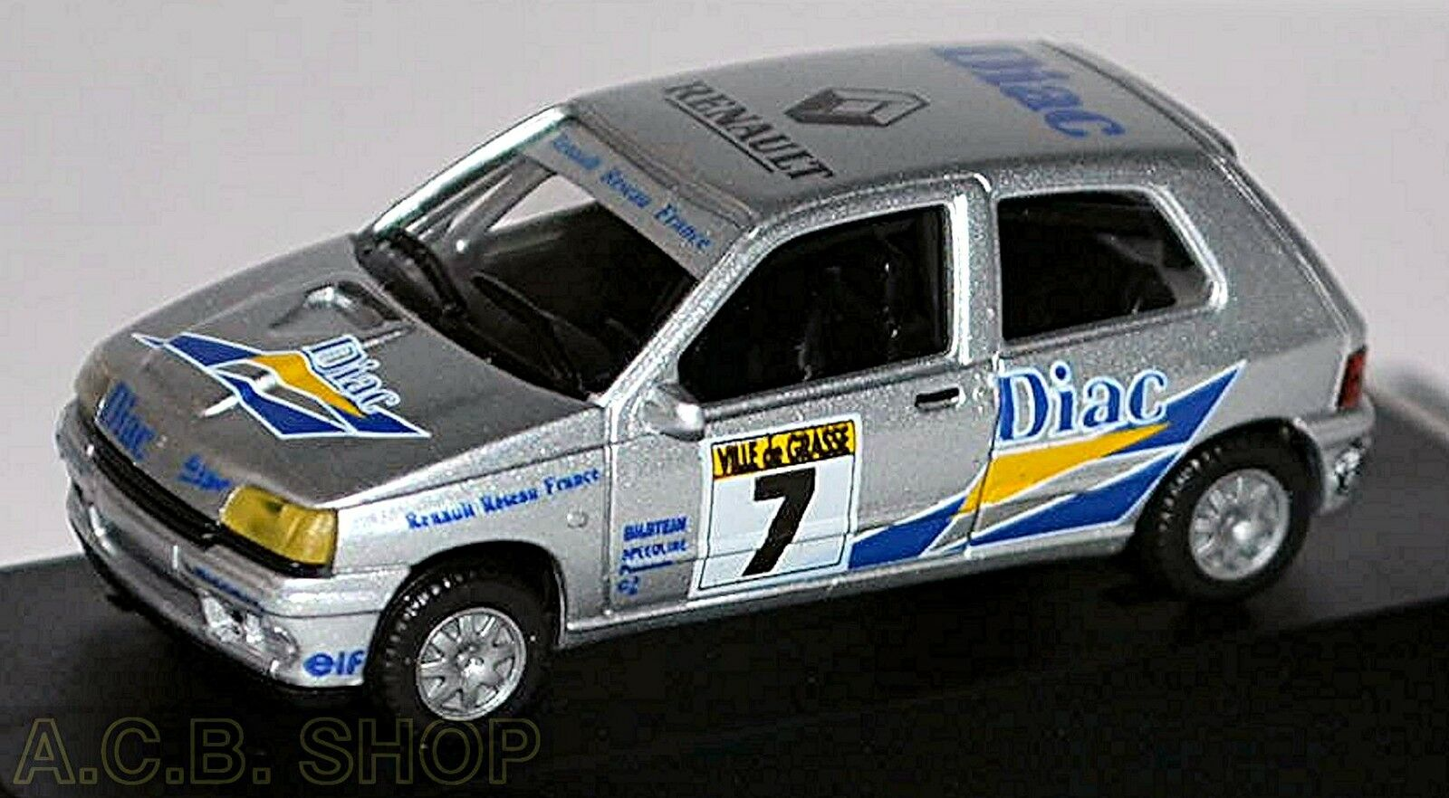 Renault Clio 16V Reseau France 93 Diac  87 Herpa PC-Box