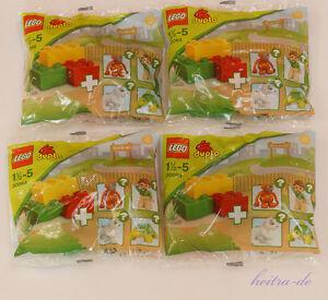 LEGO-DUPLO-4-x-30064-Uberraschungspack-Zoo-Sortiert-NEUWARE-Orginalverpackt