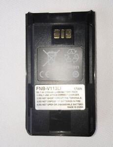 FNB-V113 Lithium Battery for Vertex Standard VX-451 VX-454 VX-459 Portable Radio