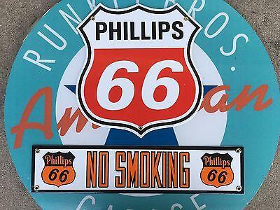 PHILLIPS 66 PORCELAIN COATED SIGN
