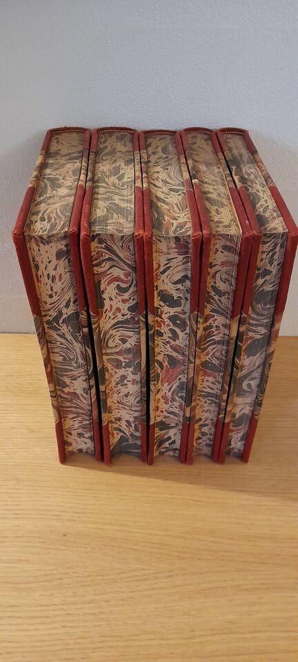 Bøger med flot indbinding, retro