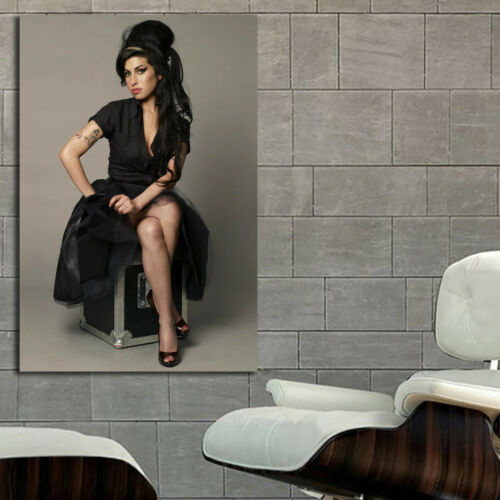 #13 Amy Winehouse Rock Blues Jazz Pop Music 40x60 inch More Sizes Large Poster