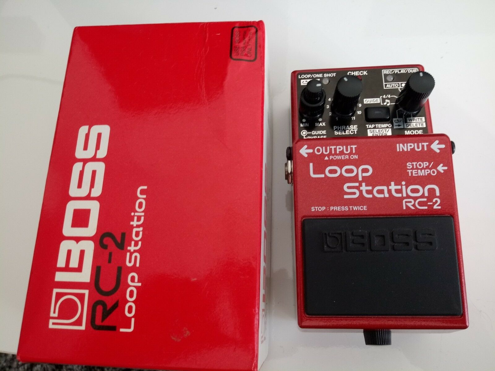 Boss RC-2 Loop Station Pedal Great Condition Guitar Synth