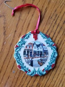 1998 Longaberger Collectors Club Hometown Christmas ...