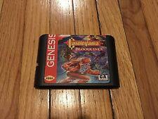 Castlevania: Bloodlines (Sega Genesis, 1994) Game Cartridge -Excellent Repro