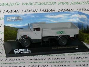 OPE152R-cadeau-1-43-IXO-OPEL-collection-Camion-LKW-Opel-BLITZ-pick-up-Dreitonner