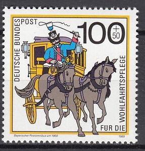 Ouvert D'Esprit Rfa 1989 Mi Nº 1439 Cachet Luxe!!!-afficher Le Titre D'origine