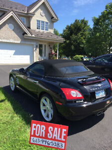 2005 Chrysler Crossfire silver