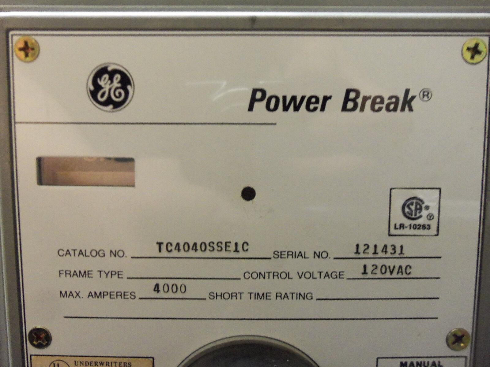 General Electric Ge 4000a Power Break Tc4040sse1c Insulated Case Electrical Thql1115gfp 15amp 1pole Gfci Circuit Breaker Plugin Ebay