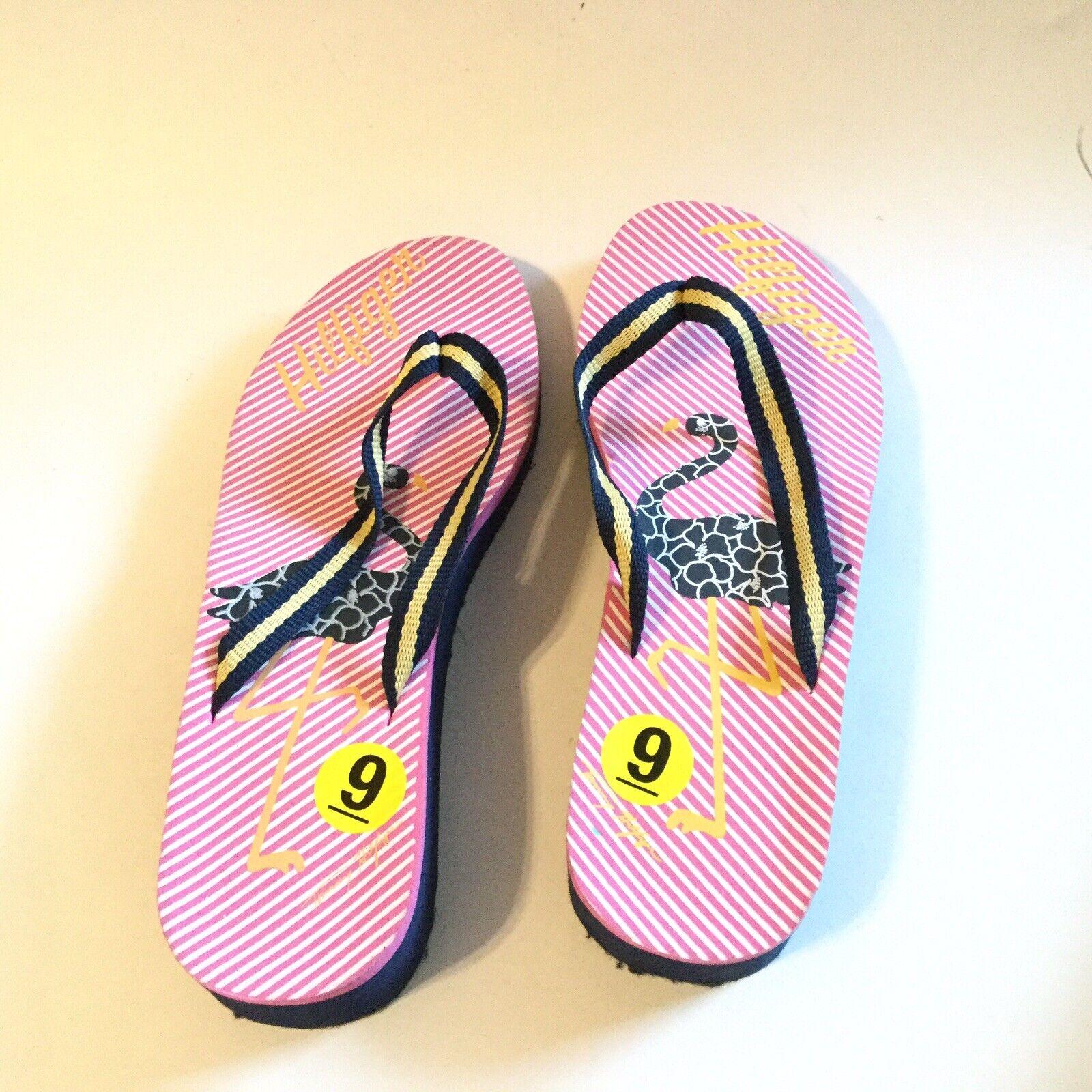 Tommy Hilfiger Women Size 9 Flip Flop Pink Navy S… - image 6