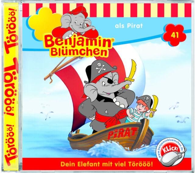 Benjamin Blümchen - Folge 41 - als Pirat - Hörspiel - CD - *NEU*