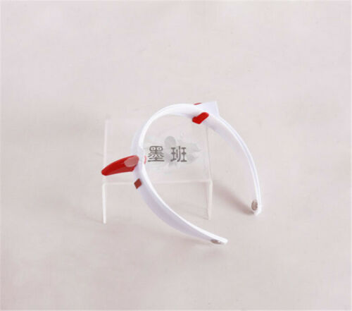 DARLING In The FRANXX Zero Two 02 Devil Horn Hairband Headband Cosplay Props New
