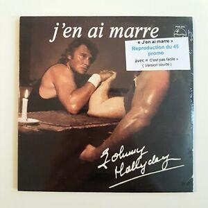 JOHNNY-HALLYDAY-CD-NEUF-SOUS-BLISTER-J-039-EN-AI-MARRE-45-PROMO-VERSION