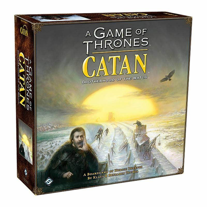 FANTASY FLIGHT GAMES A GAME OF THRONES CATAN BredHERHOOD OF THE WATCH GAME