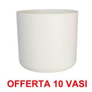 ELHO OFFERTA 10 VASO B.FOR SOFT ROUND 14CM BIANCO