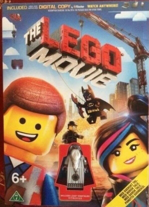 Lego andet, LEGO THE MOVIE- DVD