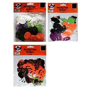 image is loading dg arts crafts novelty foam stickers decoration halloween