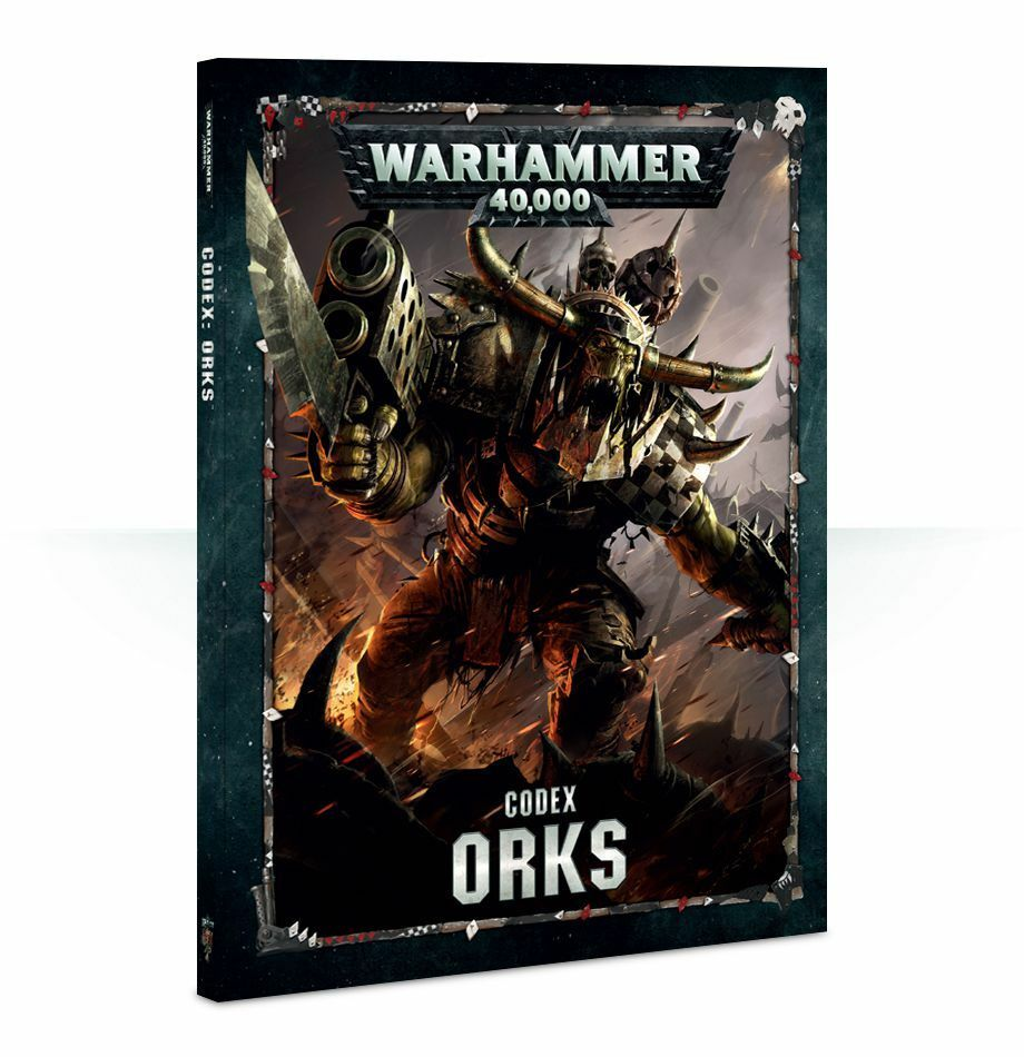Orcs Codex (German) Games Workshop Warhammer 40.000 40k 8th Orcs Ork