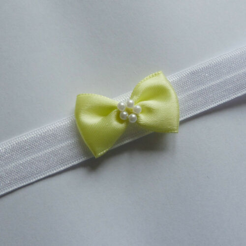 Baby Headbands Hairband Soft Elastic all sizes// lots of colours satin bow SALE