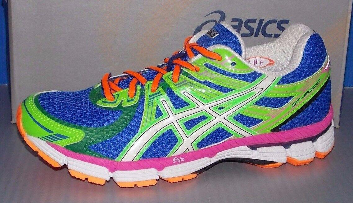 WOMENS ASICS GT - 2000 in colors GRAPE / WHITE / NEON GREEN SIZE 6 Cheap women's shoes women's shoes