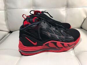 buy online dae13 9d88c Nike Air Max Pillar 525226-011 Black Sport Red Jerry Rice Retro 2012 ...