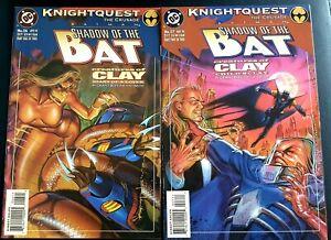 BATMAN-SHADOW-OF-THE-BAT-26-27-VF-Two-Part-Story-CLAYFACE-ABATTOIR-DC-Comics
