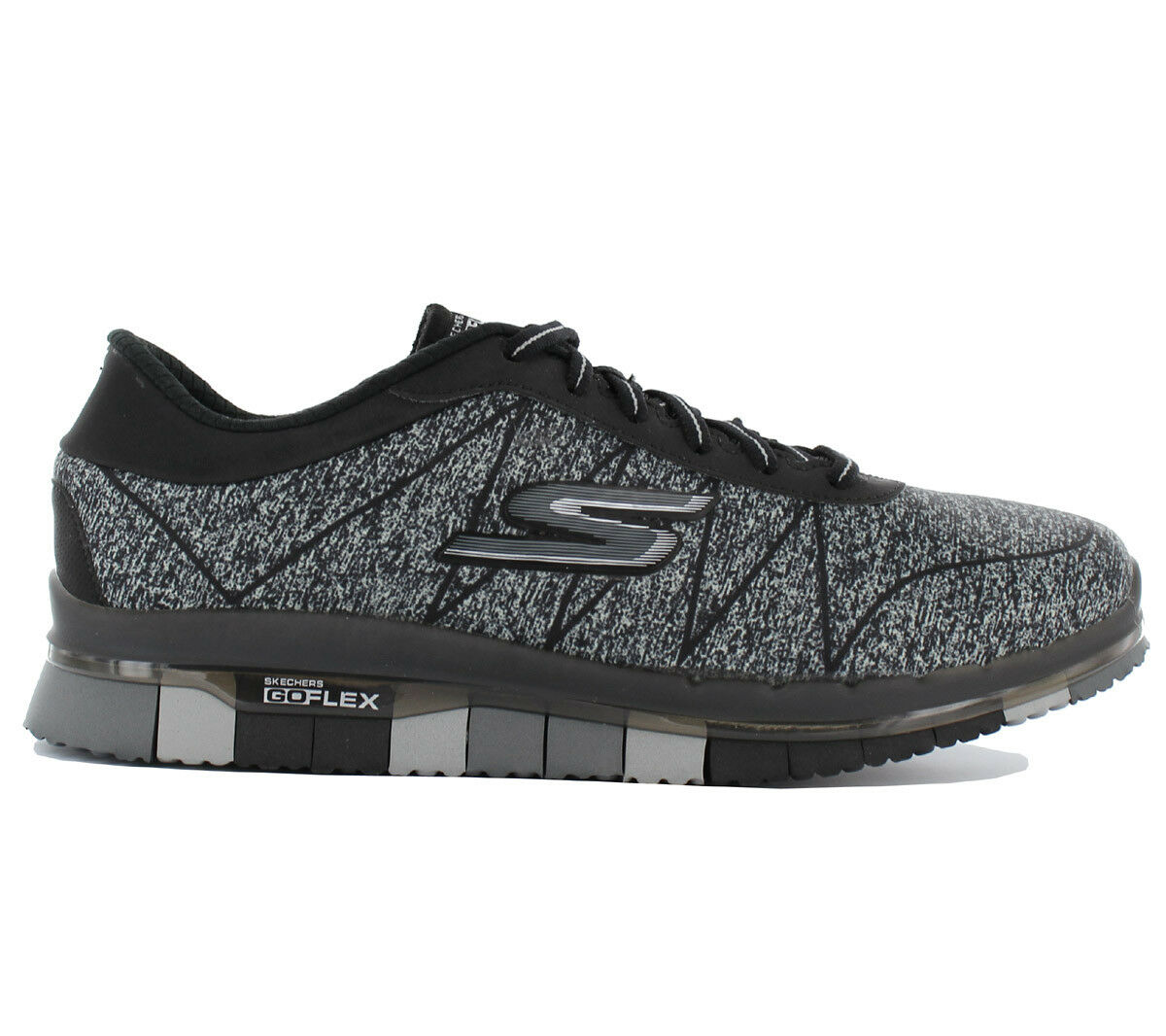 Skechers Go Flex Ability Ladies Sneaker Shoes Fitness Shoes Walk Black 14011