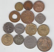British & Republic India - 14 Different Old Coins - Perfect Gift For Novice : #1