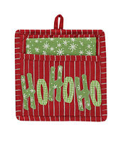 Dishtowel/pot Holder Set - Homemade Holiday By Park Designs - Christmas