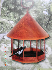 Edelrost  Futterstelle Futterstation Vogelhaus Meisenknödel Garten Deko