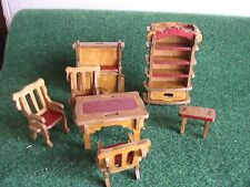 LOT MEUBLE  EN BOIS    salon  miniature    CART 28