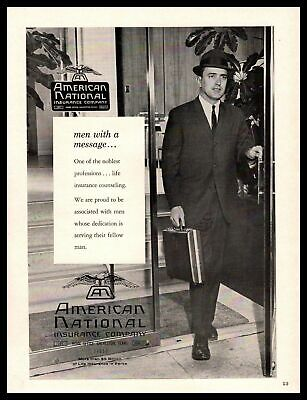 Louis Martin Sure Out Foxed Himself Vintage Print Ad 1967 Farmers Insurance