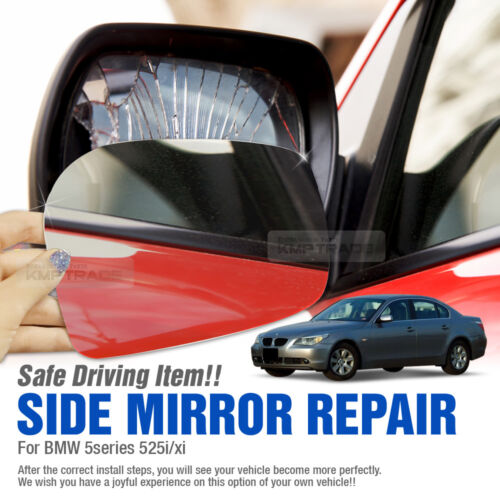 Car Side Mirror Replacement LH RH 2P for BMW 2004 05 06 07 08 5Series 525i Xi