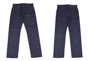 Nudie Jeans Steady Eddie Homme Sec Bleu Foi Jean Taille W31 L30
