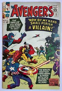 Avengers #15 - Iron Man Thor Captain America Marvel Comics