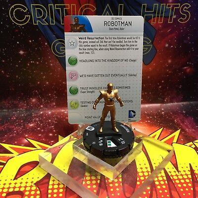 #005 Robotman Heroclix World´s Finest