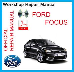 official ford focus mk3 workshop service manual 2007 2012. Black Bedroom Furniture Sets. Home Design Ideas