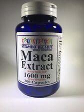 Maca Root Extract 1600 mg Enhance Sexual Health 200 Caps