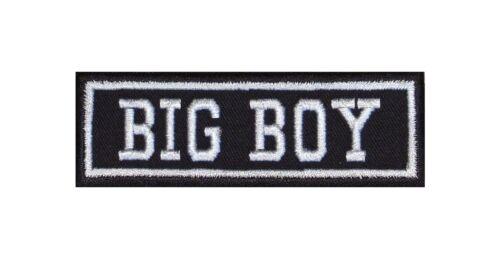 Big BOY Biker Patch ricamate moto MC Rocker STAFFA immagine tonaca Heavy Winner