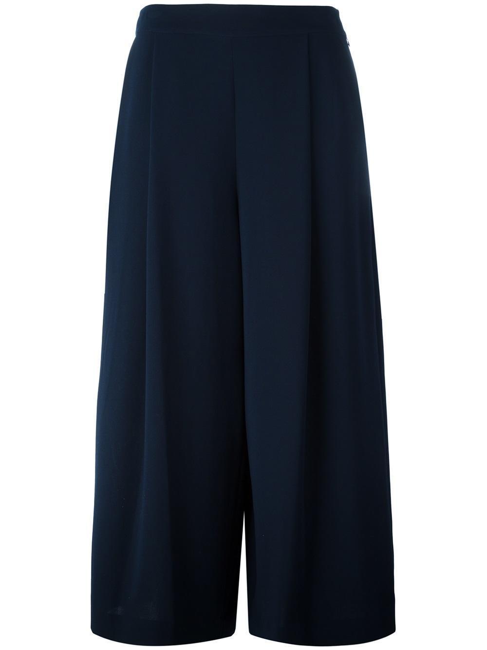 Diane Von Furstenberg Women's Holy Culottes, S881501D16, Deep Night, Size 8