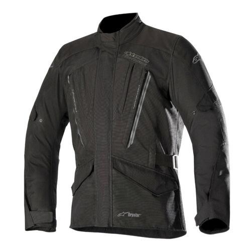 Alpinestars Volcano Drystar Black Moto Motorcycle Motorbike JacketAll Sizes