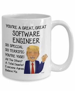 Trump Software Engineer Mug For Software Engineer Gift For Software Engineer Ebay