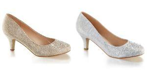 FABULICIOUS-Doris-06-Nude-Silver-Glitter-Evening-Dress-Wedding-2-5-034-Kitten-Heels
