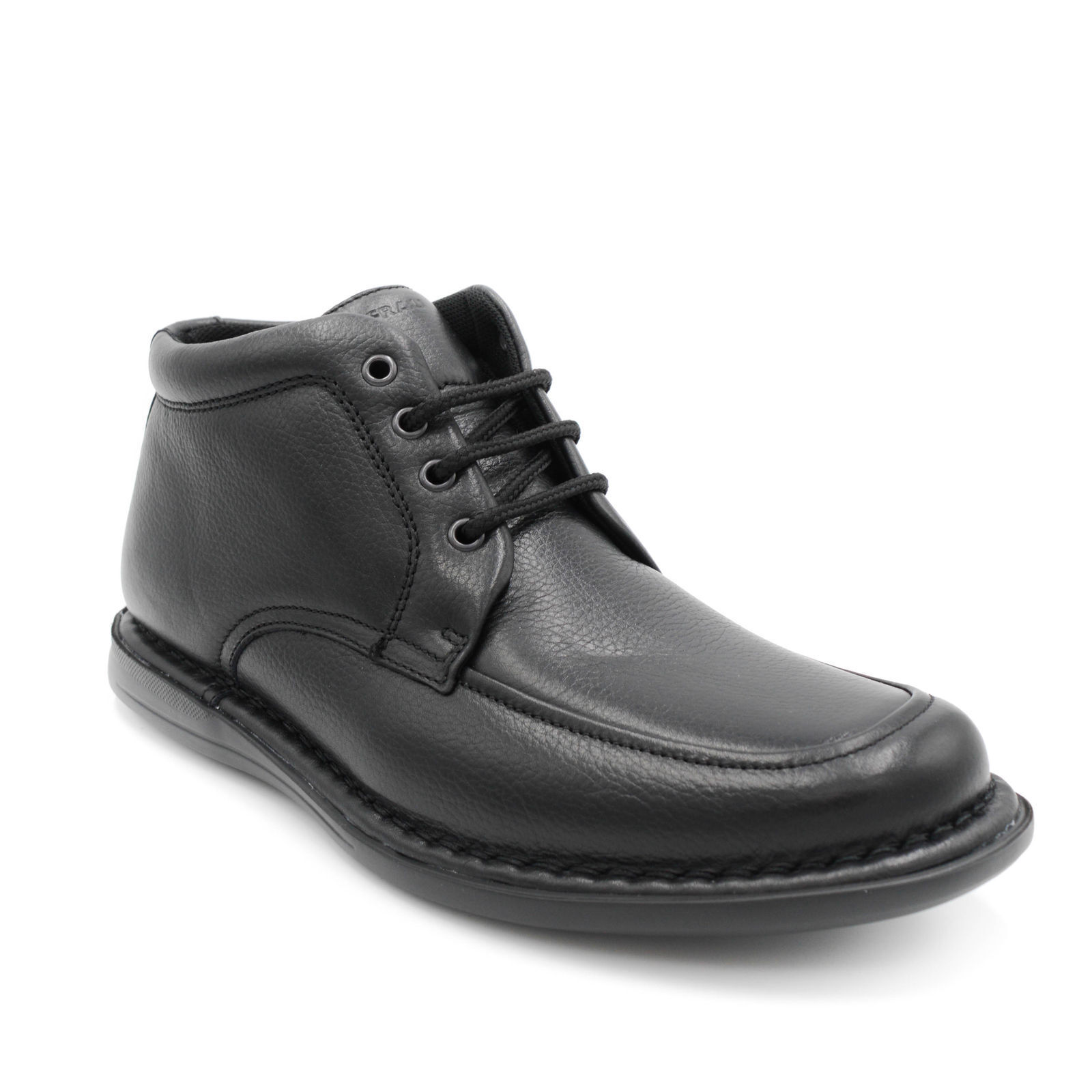 FRAU FX 38P4 STIVALETTO men black RODEO XL - LEATHER - MADE IN ITALY